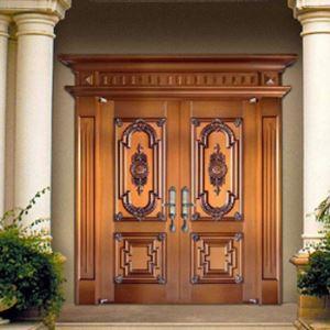 别墅铜大门的保养小妙招